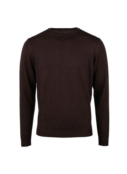 Stenstroms Garment Dyed Merino Crew Neck Sweater