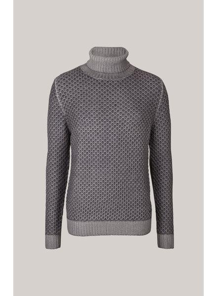 JOOP! Wool Diamond Turtleneck Sweater