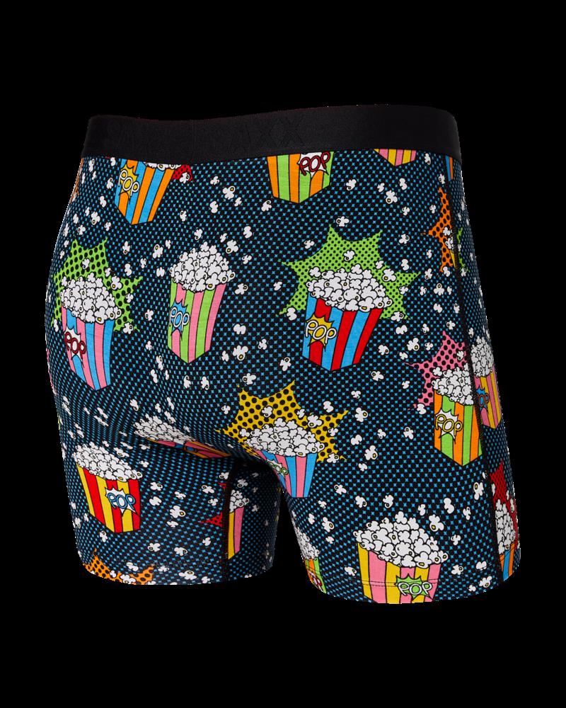 SAXX ULTRA Boxer Brief / Pop Art Popcorn