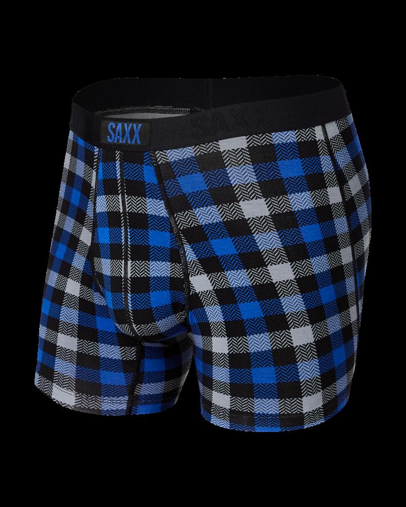 SAXX VIBE Boxer Brief / Flannel Check