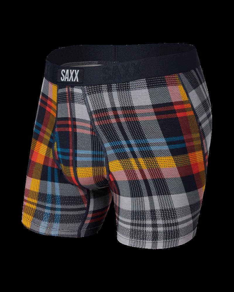 SAXX ULTRA Boxer Brief / Free Fall Plaid