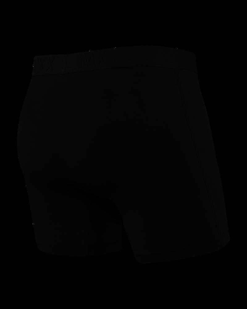 SAXX VIBE Boxer Brief / Black & Black