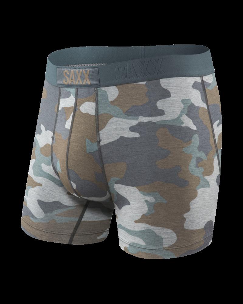 SAXX VIBE Boxer Brief / Grey Super Camo