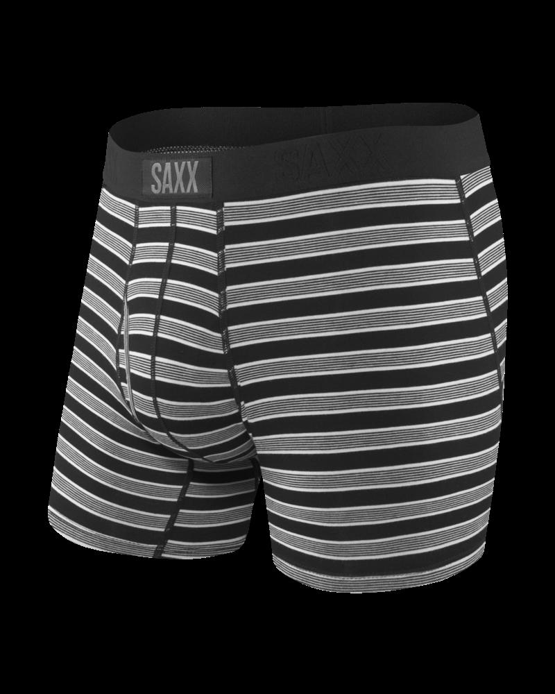 SAXX ULTRA Boxer Brief / Black Crew Stripe