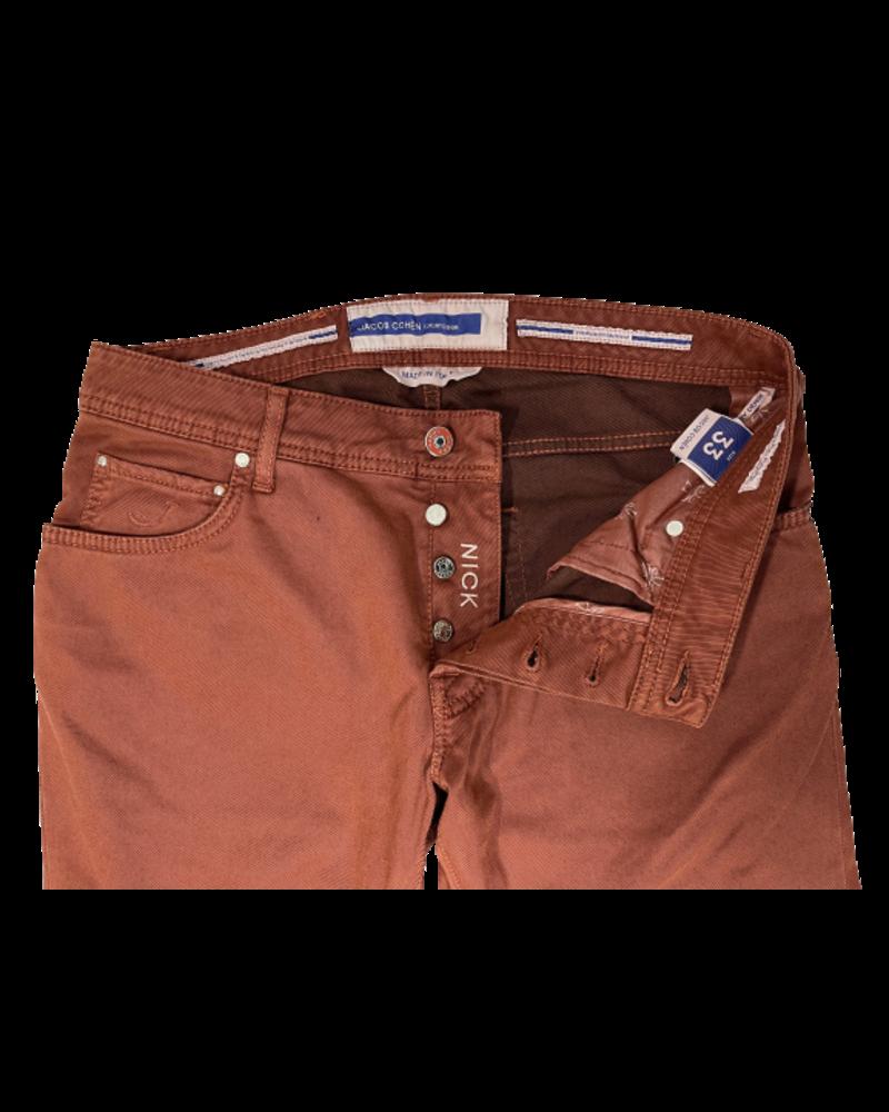 Jacob Cohen Jacob Cohen Nick Slim Brushed Cotton Pants