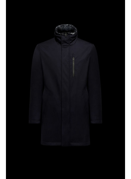 Down Padded Wool Coat