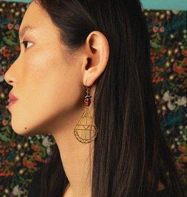 Kazak Boucles d'oreilles Woodside PE19 Kazak