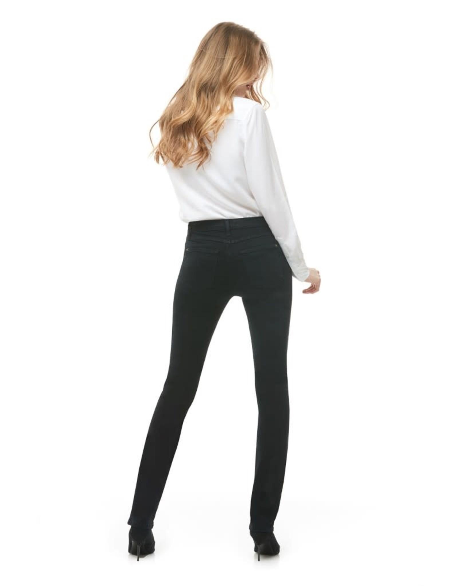 Yoga Jeans High Rise Slim 1623 Pitch black Yoga Jeans