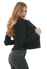 Yoga Jeans Jacket Overdye Black SWV031 Yoga Jeans