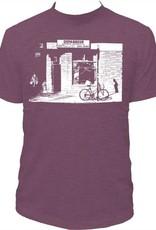 Tresnormale T-Shirt Homme Tresnormale Depanneur Mauve