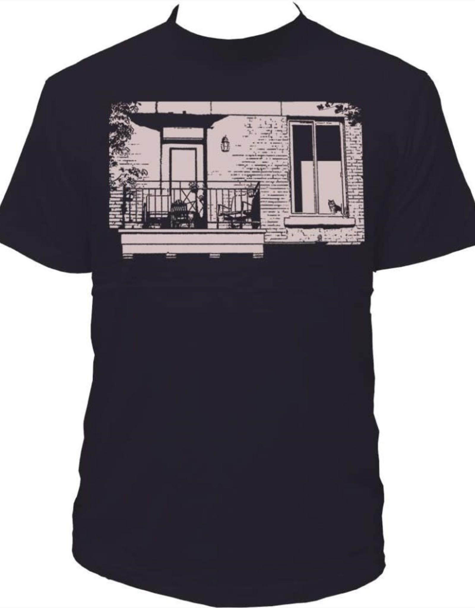 Tresnormale T-Shirt Homme Tresnormale Plateau Chat Gris Fonce
