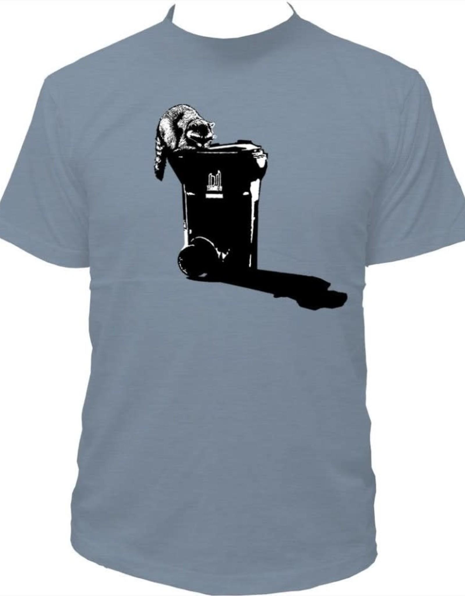 Tresnormale T-Shirt Homme Tresnormale Raton Bleu Gris
