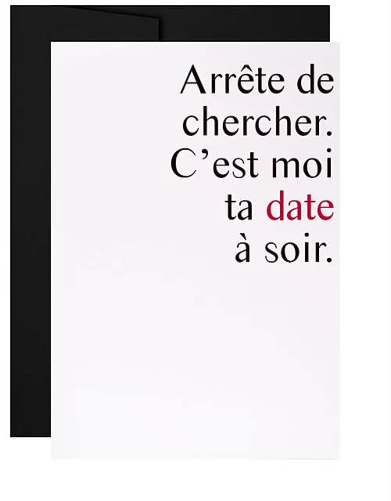 Masimto Carte Masimto C'est moi ta date