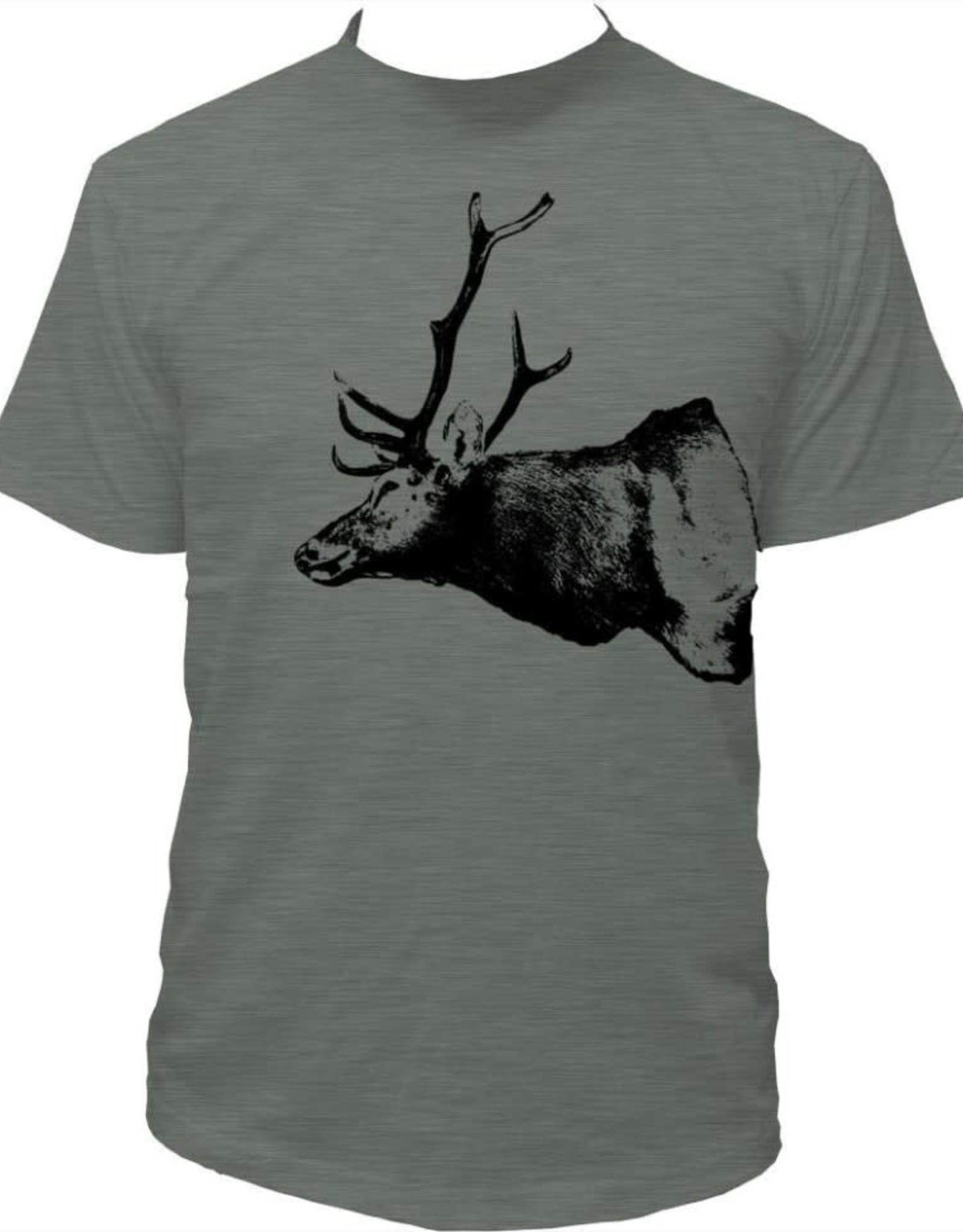 Tresnormale T-Shirt Homme Tresnormale Cerf Vert