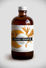 Les Charlatans Sirop Orange et Romarin Les Charlatans 8 oz.