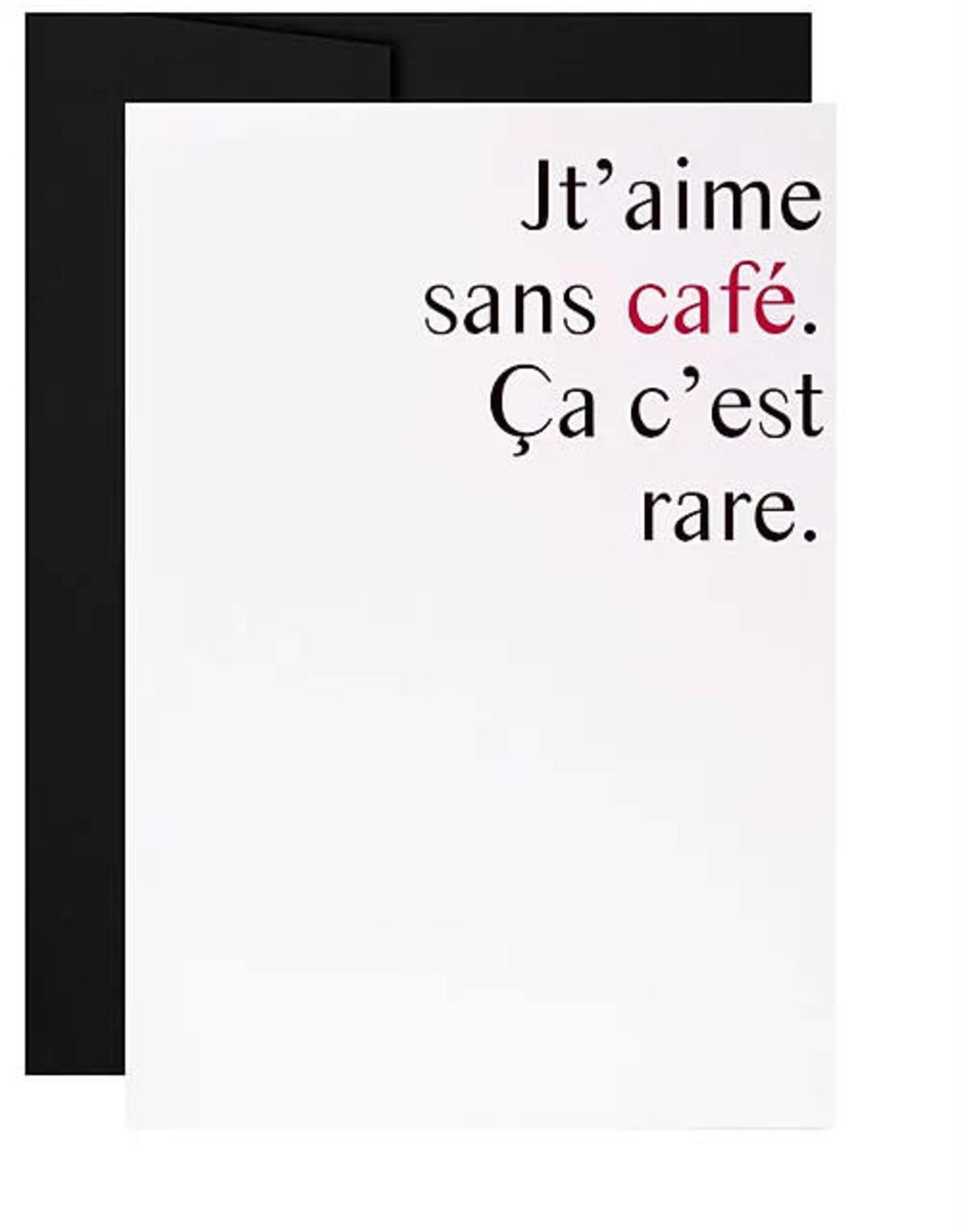 Masimto Carte Masimto Jt'aime sans café