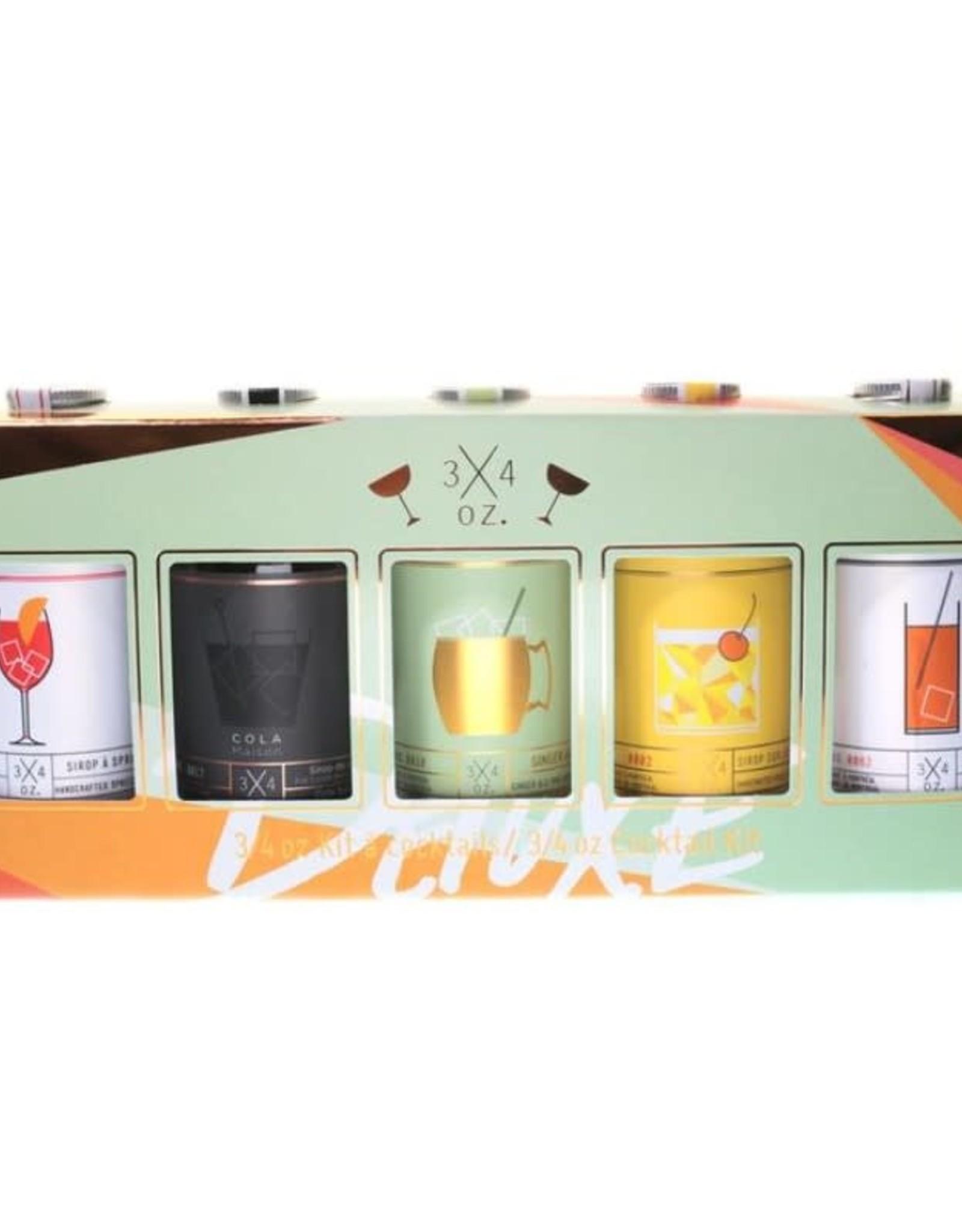 Trois quarts d'once Deluxe Cocktail Kit Trois Quarts d'Once