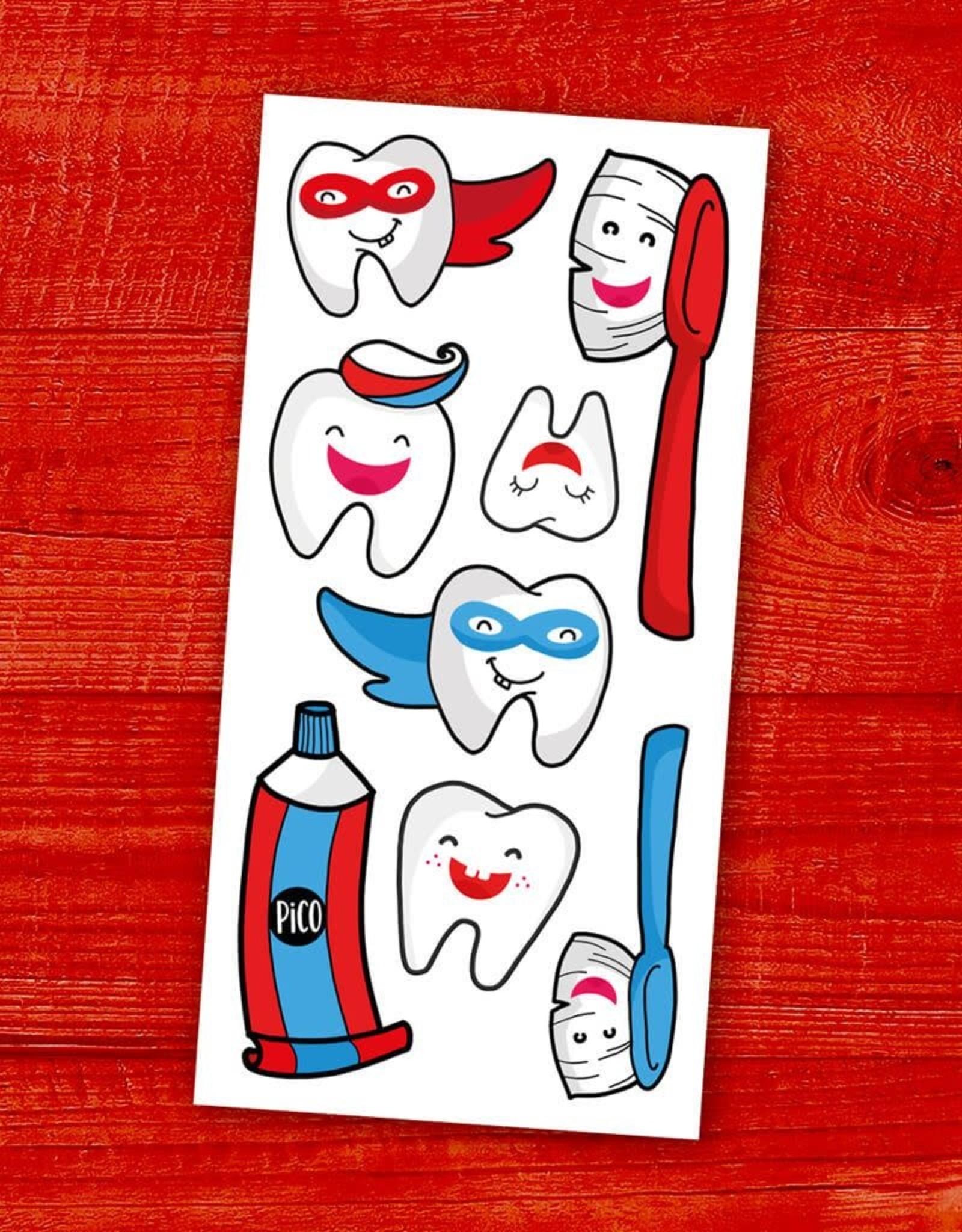 Pico Tatouage Pico Tatoo Brosse tes dents