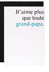 Masimto Carte Masimto Que toute grand-papa