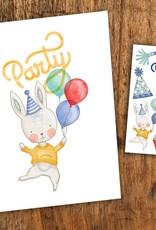 Pico Tatouage Carte de Souhait Party Pico Tatoo