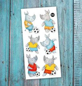 Pico Tatouage Pico Tatoo Rico le joueur de soccer