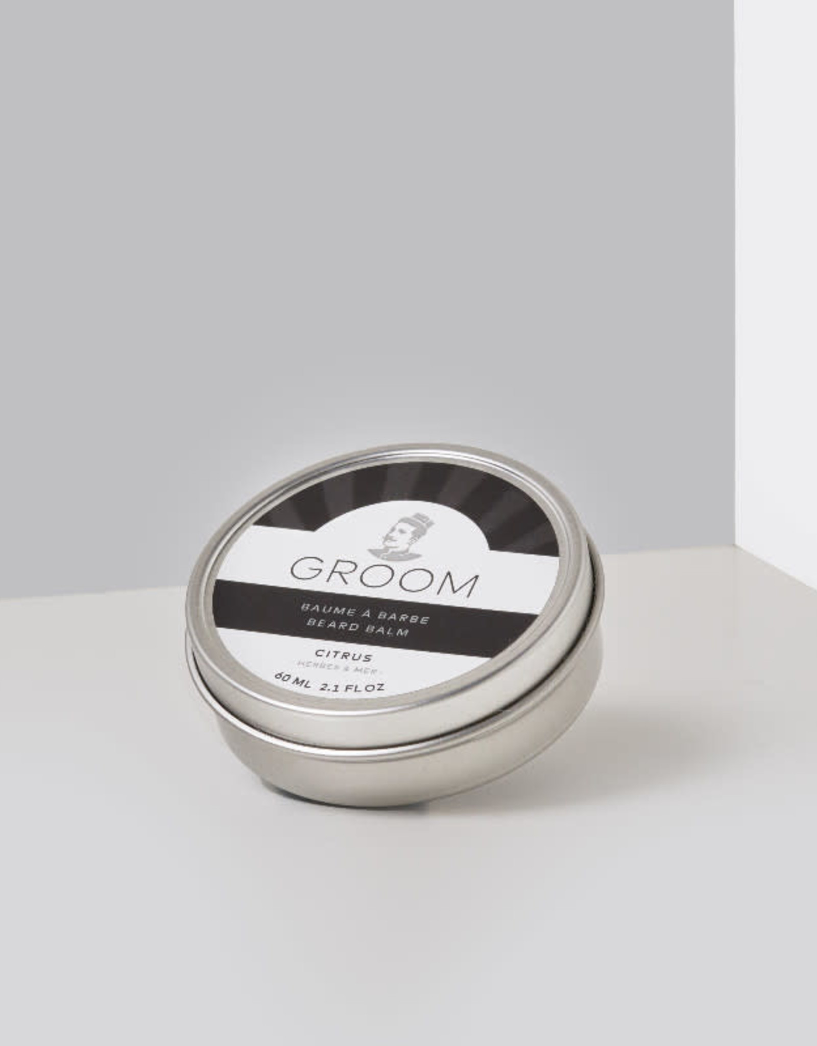 Groom Baume à barbe fragrance Citrus 60ml Groom