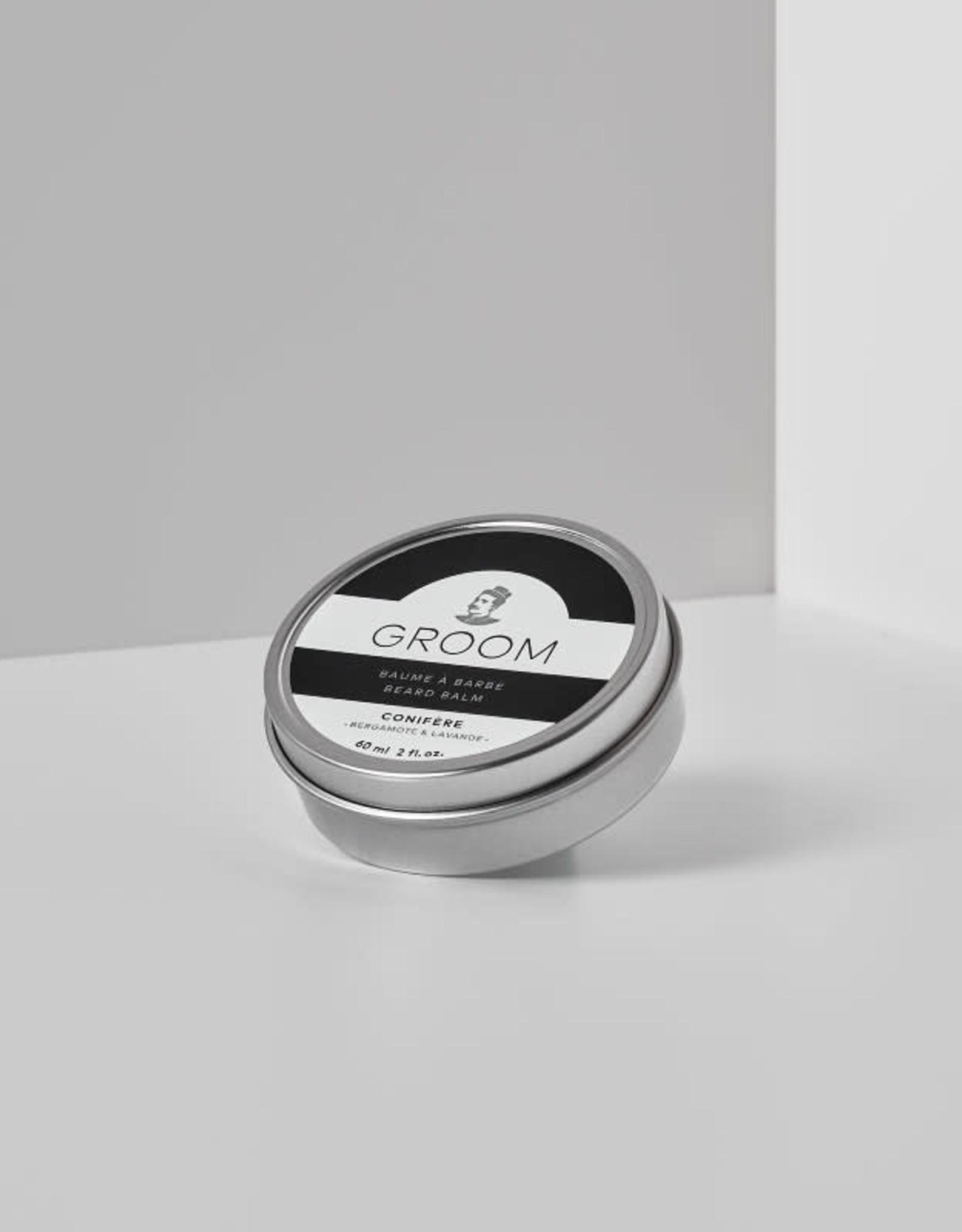 Groom Baume à Barbe- fragrance Conifère 60ml Groom