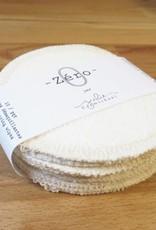 Julie Carmichael Textiles Lingettes Démaquillantes - Pqt de 10 Collection Zéro Julie Carmichael Textiles