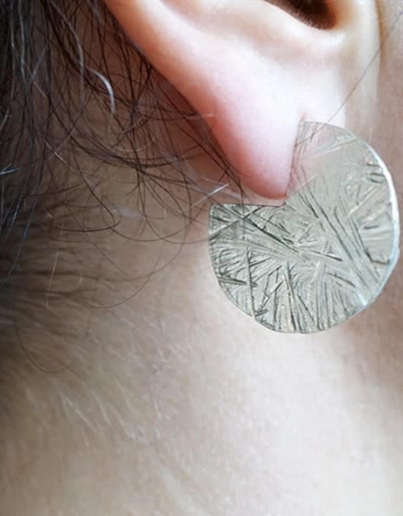 Marmod8 Boucles d'oreilles Pacman argent Marmod8