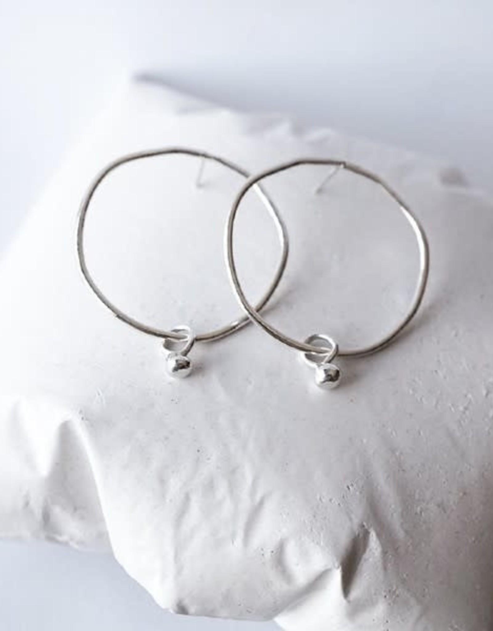 Marmod8 Boucles d'oreilles Pea Argent Marmod8