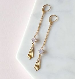 Sandrine Devost Boucles d'oreilles SD1312 Scorsese Earrings Opal Pink Sandrine Devost