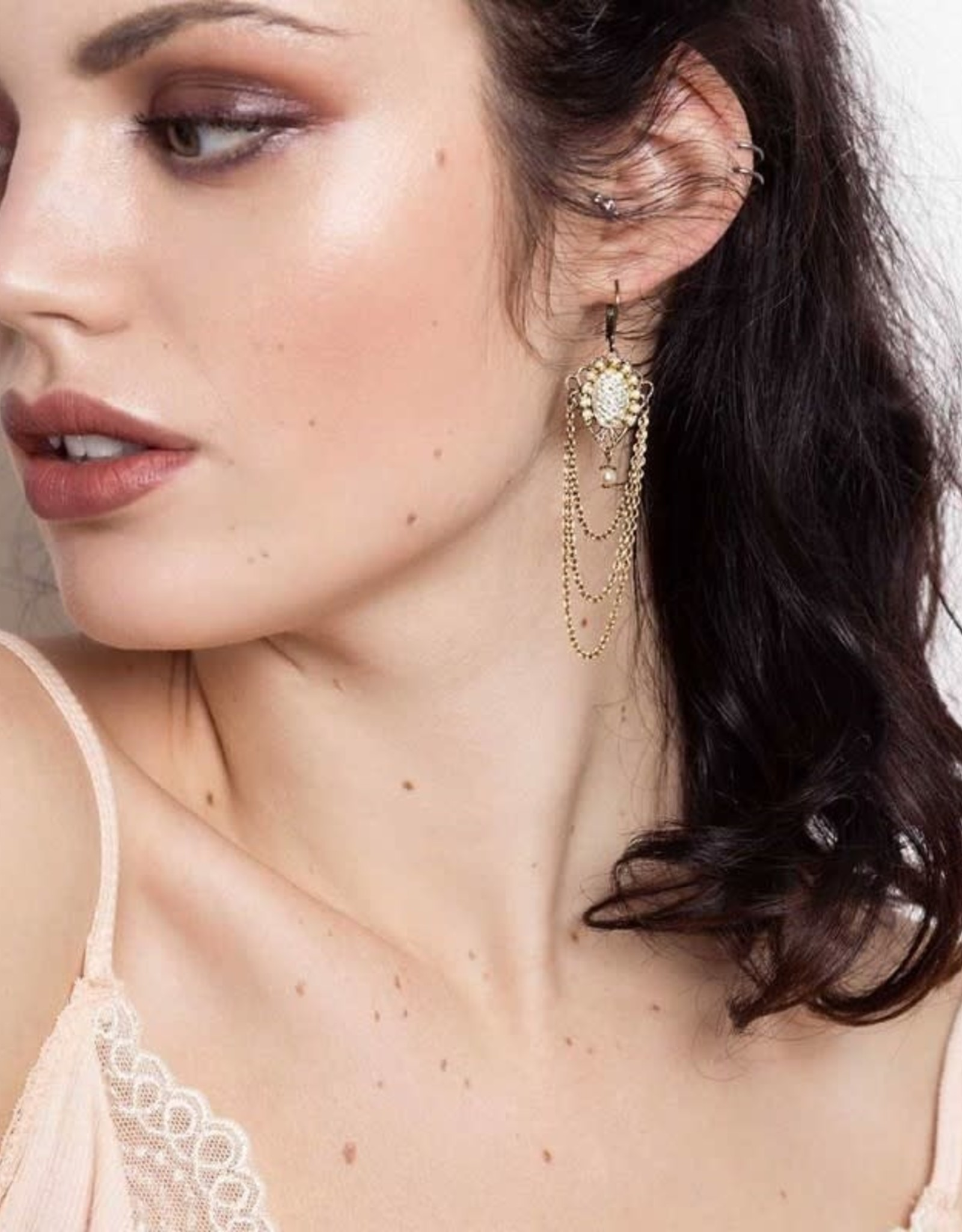Sandrine Devost Boucles d'oreilles Gatsby Earrings SD0531 Sandrine Devost
