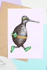 Amelie Legault Carte Amelie Legault Kiwi Jogging