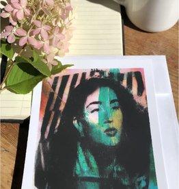 Chère Simone Carte Postale Chère Simone  Portrait