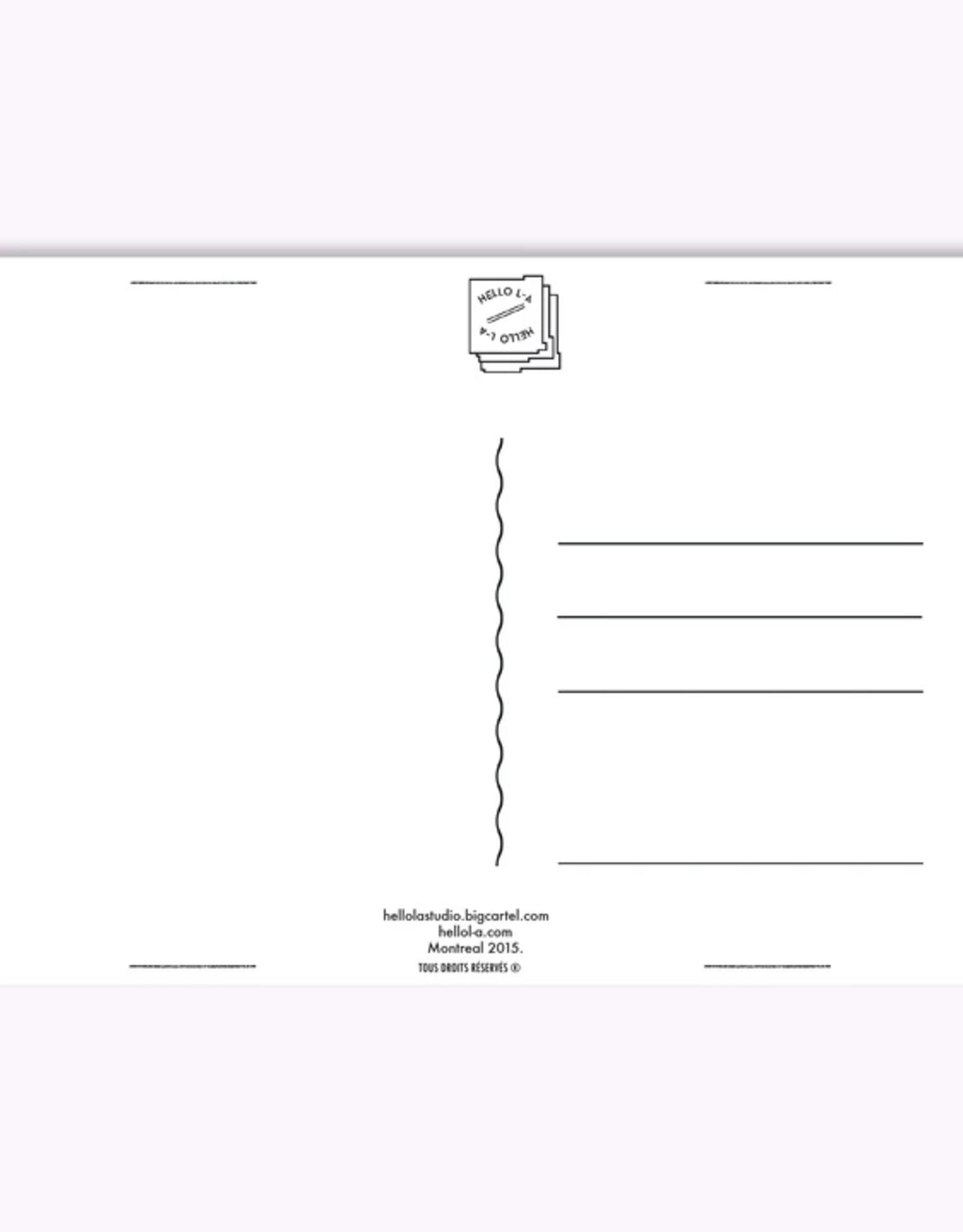 Ex-Voto Carte Postale Montréal Ex-Voto Schwartz