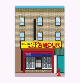 Ex-Voto Carte Postale Montréal Ex-Voto Cinéma l'Amour