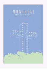 Ex-Voto Carte Postale Montréal Ex-Voto Croix Mont-Royal