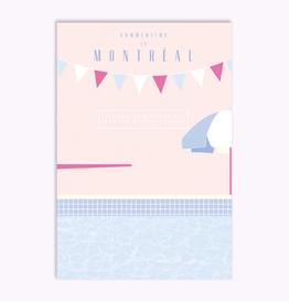 Ex-Voto Carte Postale Montréal Ex-Voto Laurier Pool