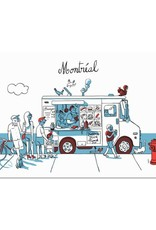 Paperole Carte postale Foodtruck Paperole