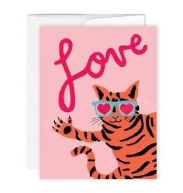Paperole Carte de Souhait Love cat  Paperole