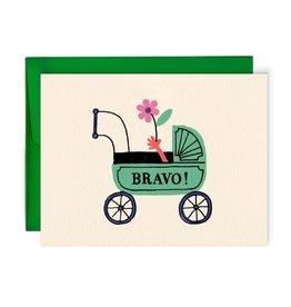 Paperole Carte de Souhait Bravo Paperole