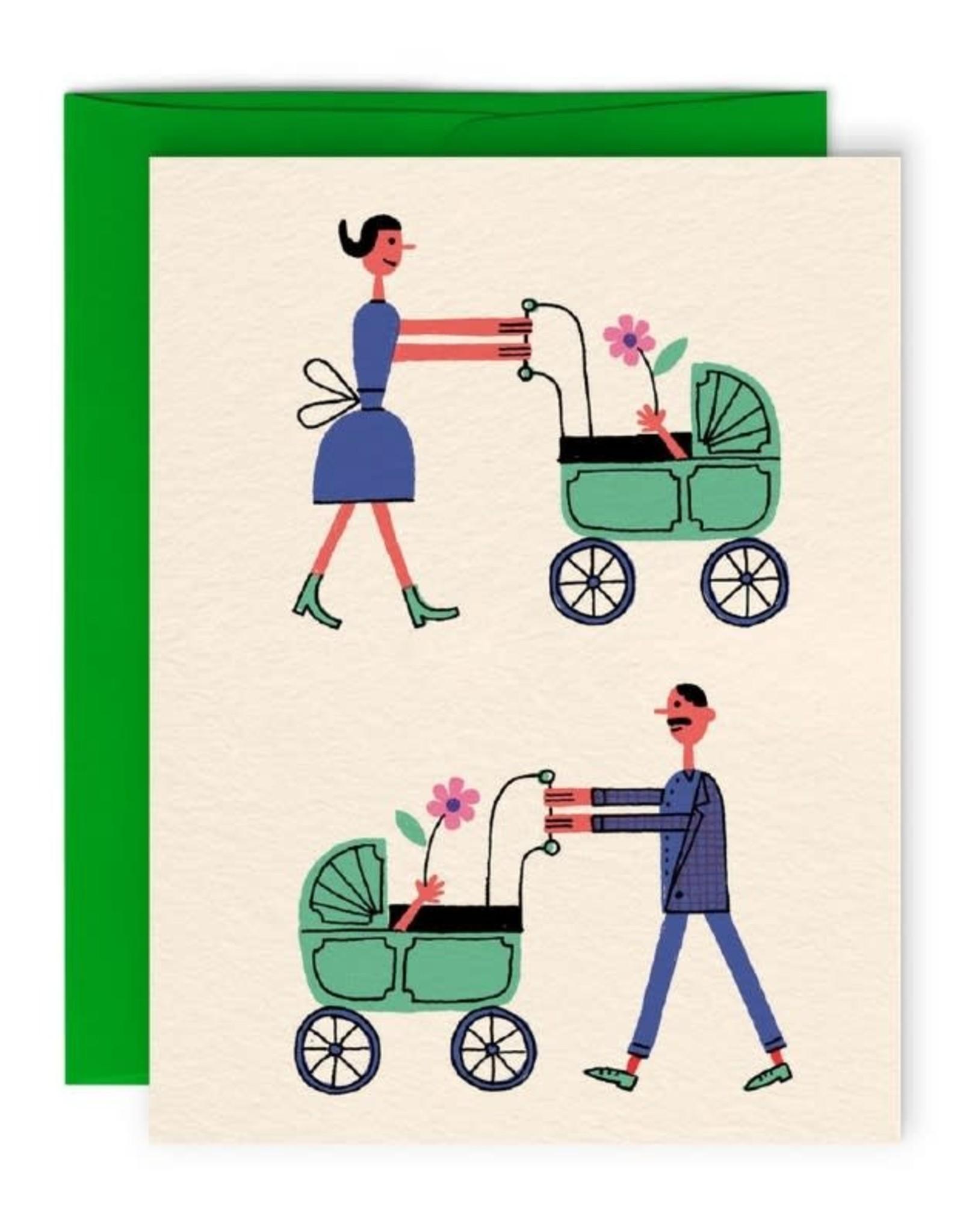 Paperole Carte de Souhait Famille Paperole
