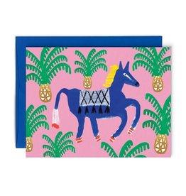 Paperole Carte de Souhait Cheval royal Paperole
