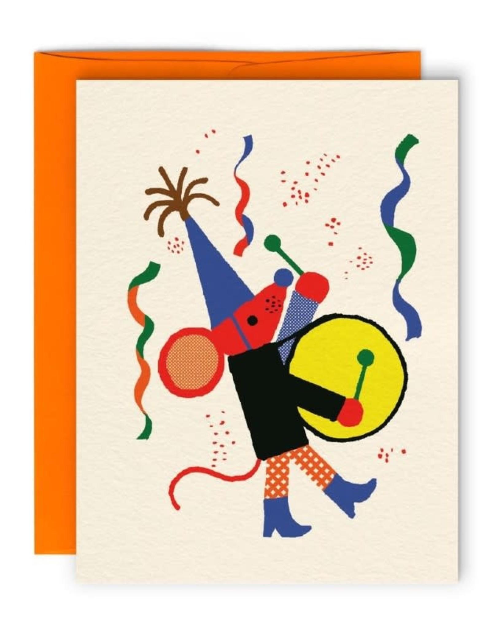 Paperole Carte de Souhait Souris Paperole