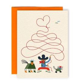 Paperole Carte de Souhait Cowboy Paperole