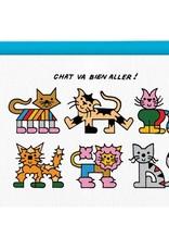 Paperole Carte de Souhait Chat va Paperole