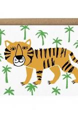Paperole Carte de Souhait Tigre Paperole