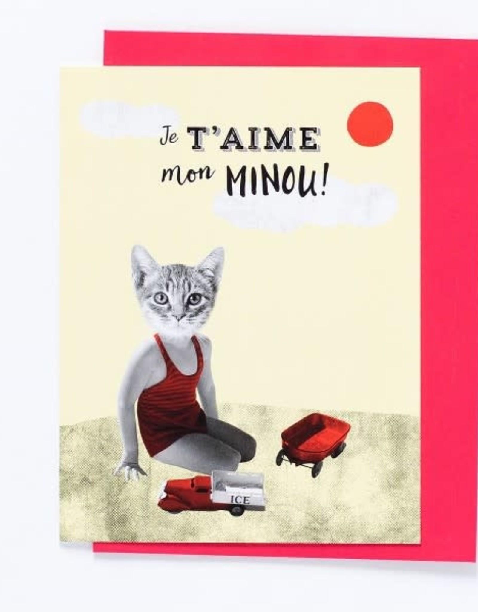 So Meow Carte So Meow Je t'aime mon minou
