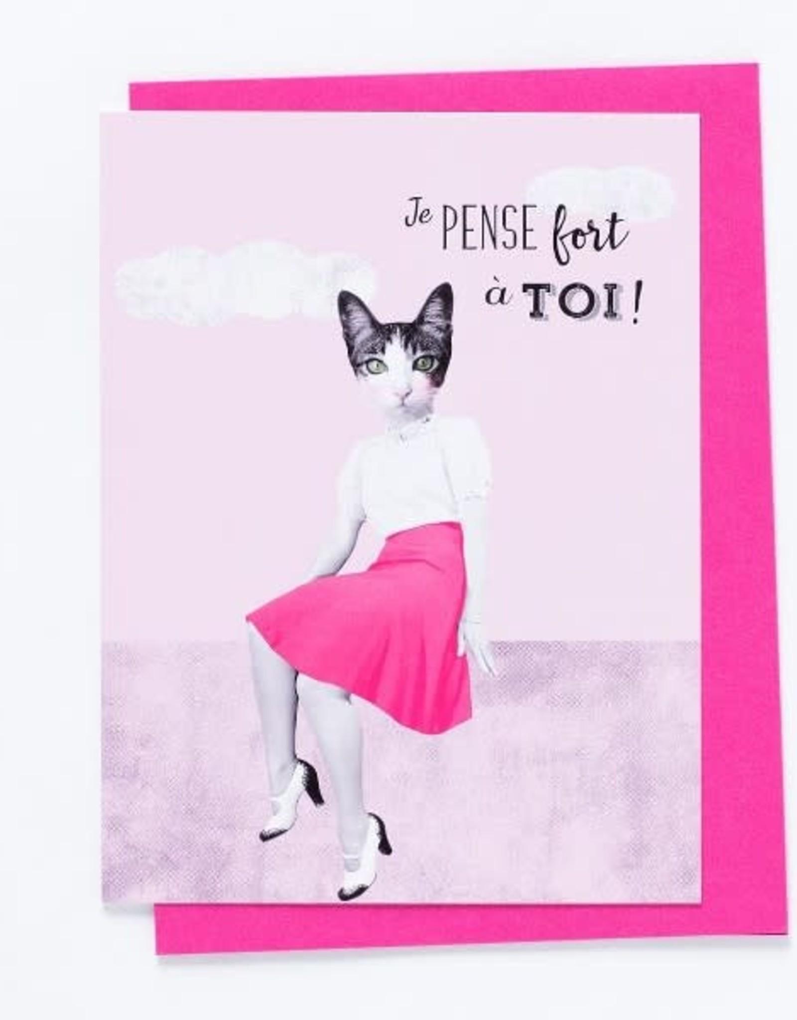 So Meow Carte So Meow Je pense fort à toi