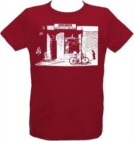 Tresnormale T-Shirt Enfant Dépanneur Tresnormale Rouge